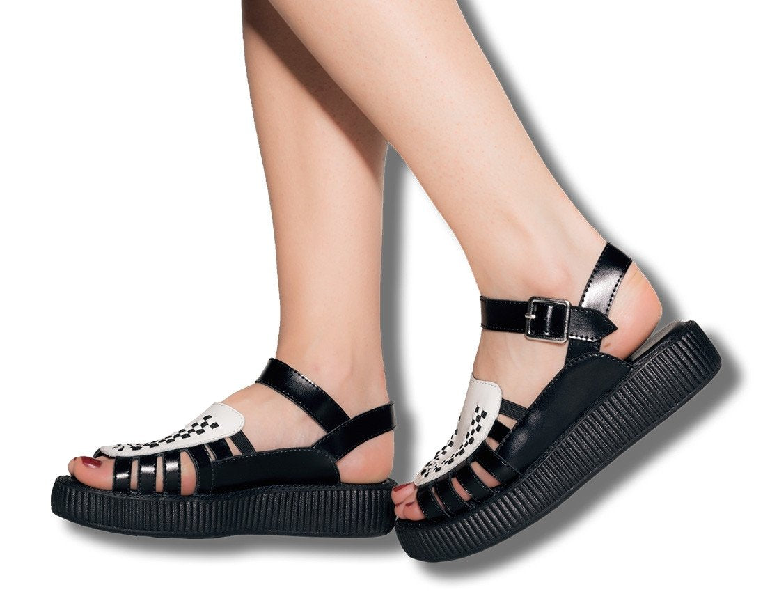 706f344c763eed Two Tone Creeper Sandal – T.U.K. Footwear Outlet