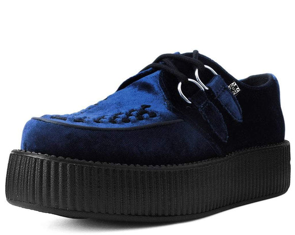 Midnight Blue Velvet Viva Mondo Creeper