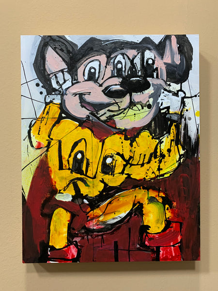 Abstract Mighty Mouse Original
