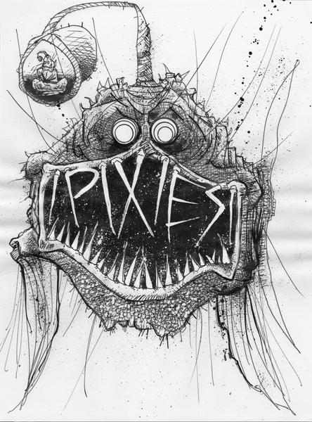 pixies original art for Northampton show 2017