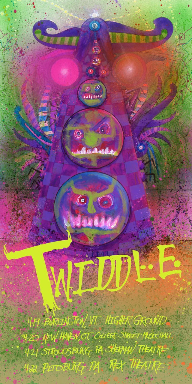 Twiddle - April 2018 - Artist Edition