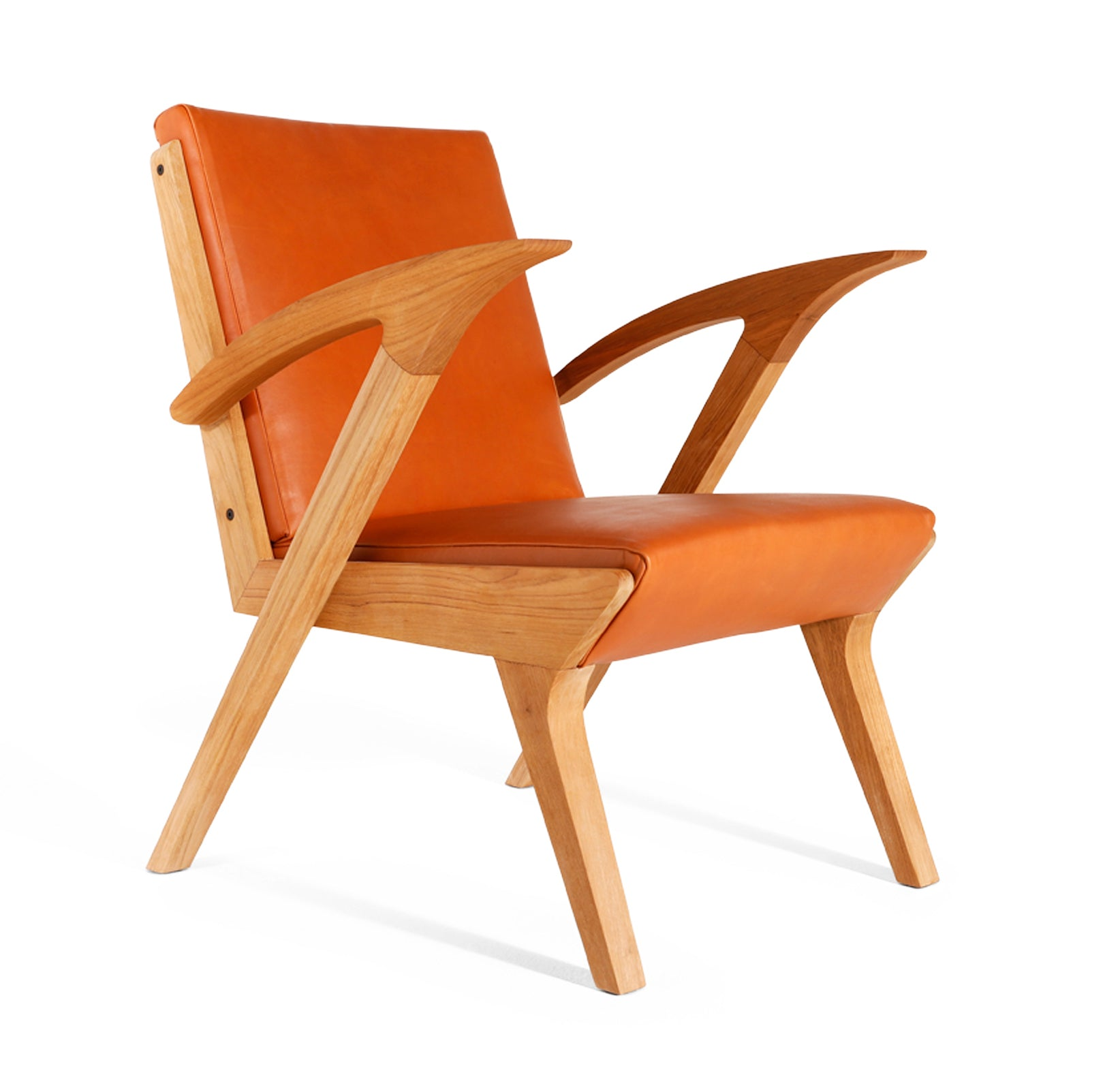 Jengki Relax Chair Leather, Custom Designer Leather Chair