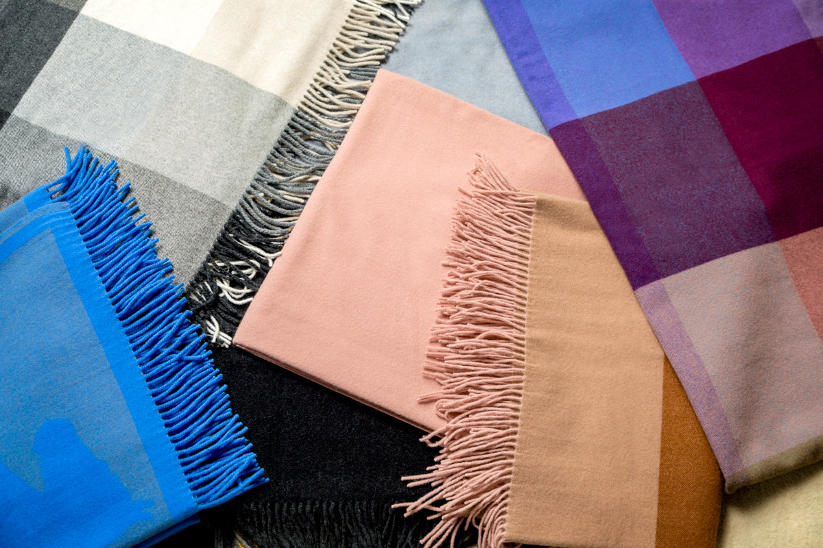 Luxurious Cashmere Throw