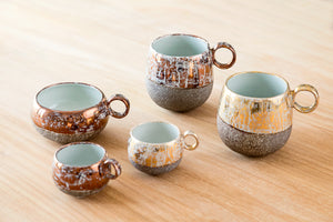 Metallic Handmade Porcelain Collection