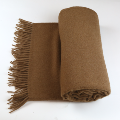 Luxurious Mongolian Camel hair Throw