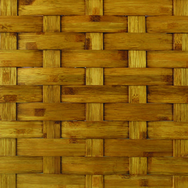 Woven Bamboo Wall Feature
