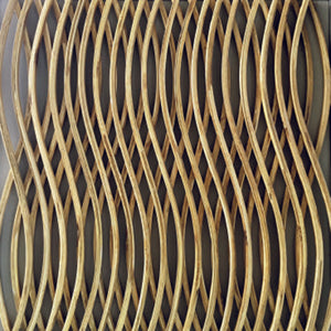 Curved Bamboo Wall Feature