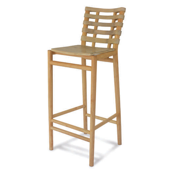 Linier Collection Bamboo Bar Stool