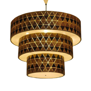 Mosa Collection Bamboo Pendent Lamp