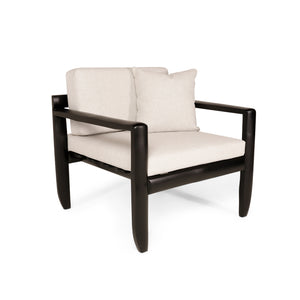 Lincak Bamboo Chair in Matte Black