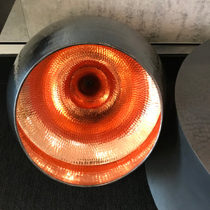 Kubah Light in Black with Copper