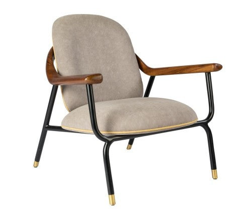 Ruu Lounge Chair - Metal