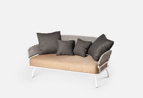 Lala Rattan Two Seater Sofa