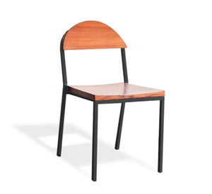 Suzy Stackable Dining Chair Round Back