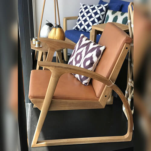 Sedan Relax Chair - Leather