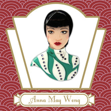 Anna May Wong Portrait Brooch