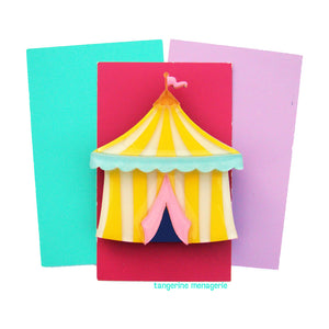 Circus Tent Brooch