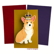 Royal Corgi Brooch