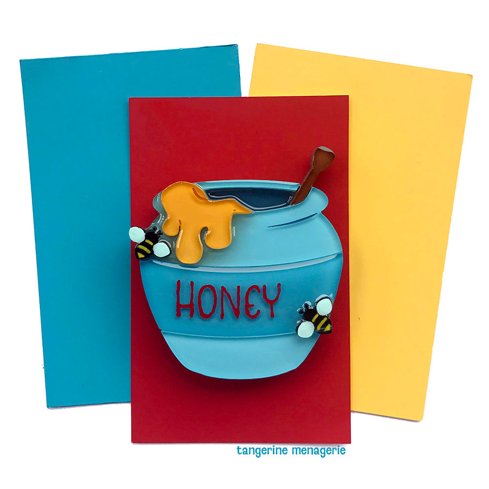 Honey Pot Brooch
