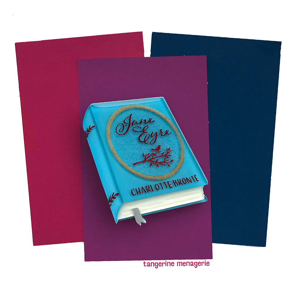 Jane Eyre Book Brooch