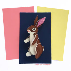 The Velveteen Rabbit Brooch
