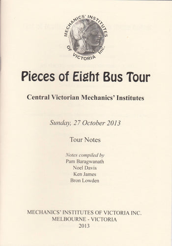 Pieces of Eight - Bus Tour Notes