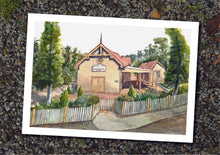 A4 Prints - Mechanics' Institute Watercolours by Damian Callanan