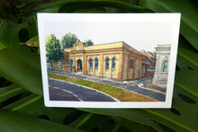 Single Blank Card - Mechanics' Institute Watercolours by Damian Callanan