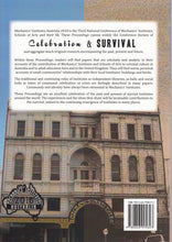 Celebration & Survival: Proceedings of Mechanics' Institutes Australia 2018