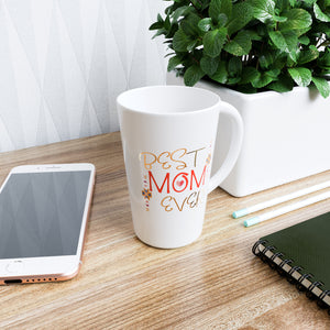 Best Mom Ever - 16 oz Ceramic Mug with Handle for Home  of Office- Great Gift For Mom