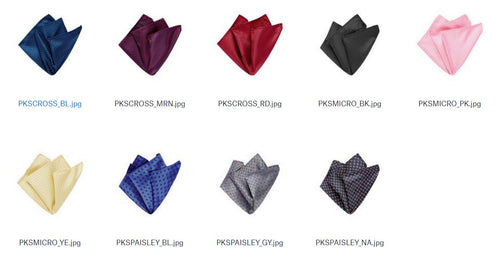 Assorted Pocket Squares