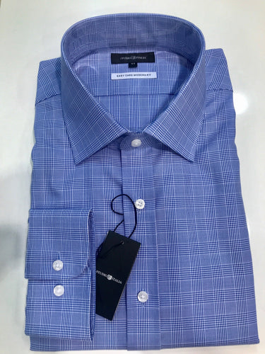 Studio Italia Conran  Blue single cuff shirt ST14