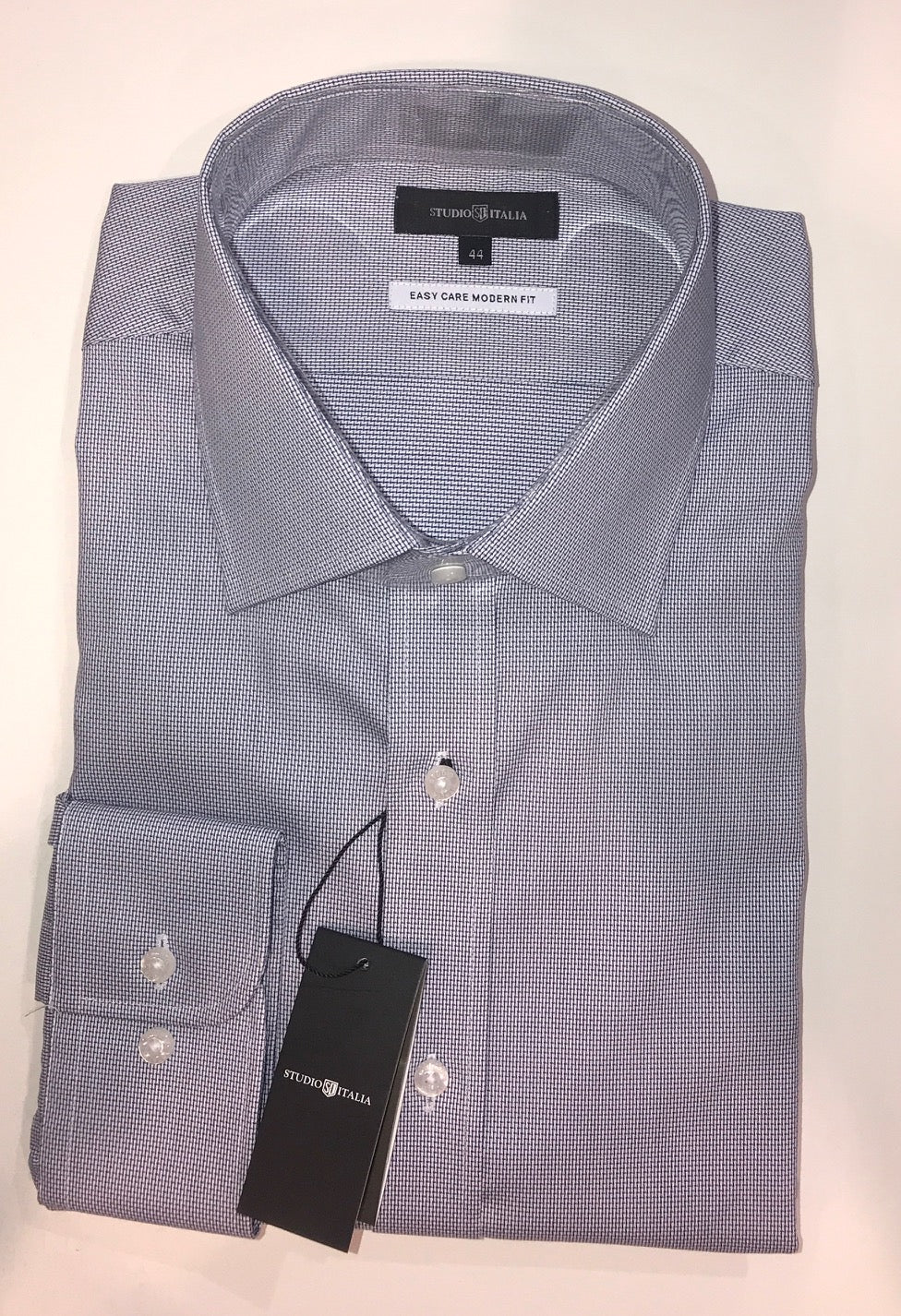 Studio Italia Conran  grey single cuff shirt ST12