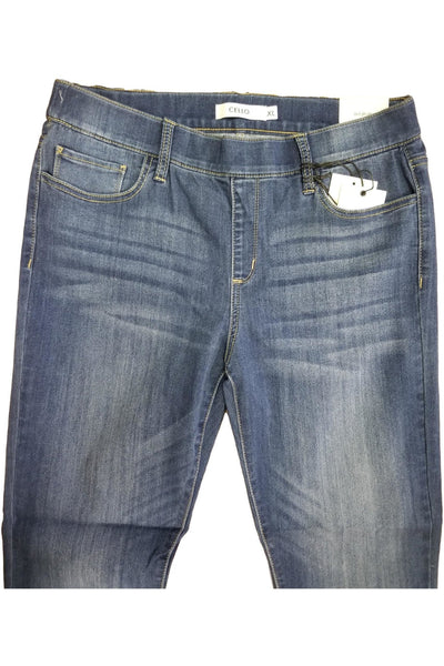 Cello pull on skinny jeans in dark wash