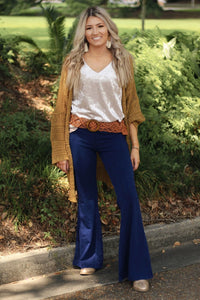 Flashback mineral wash bell bottoms