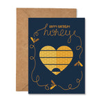 Happy Birthday Honey Bee Greeting Card