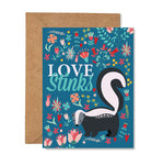 Love Stinks Greeting Card