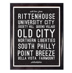 With Love From Philadelphia Wall Art Poster
