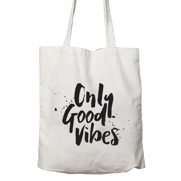 Only Good Vibes Tote Bag