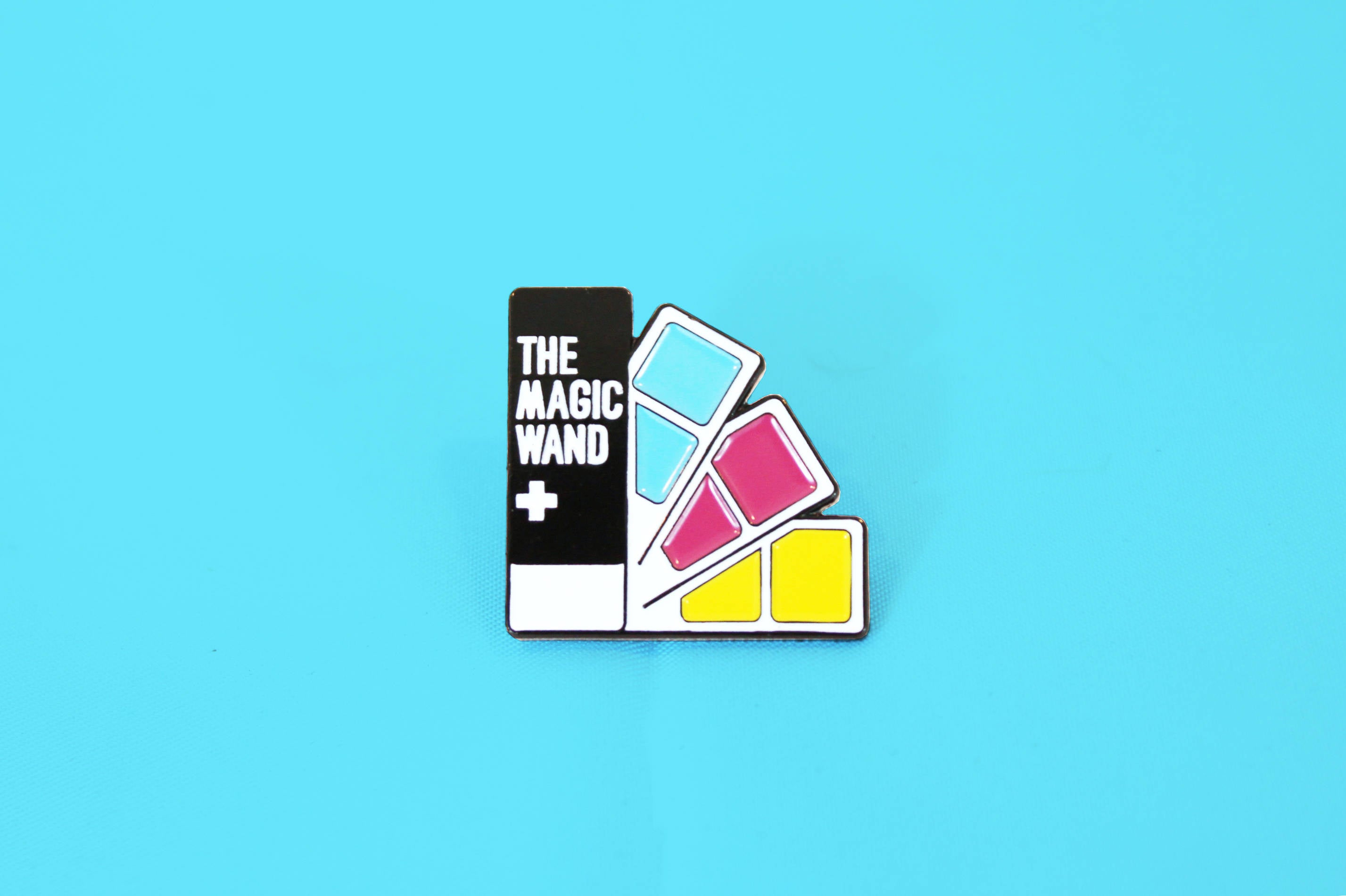 The Magic Wand Pantone Color Swatch Book Soft Enamel Lapel Pin ...