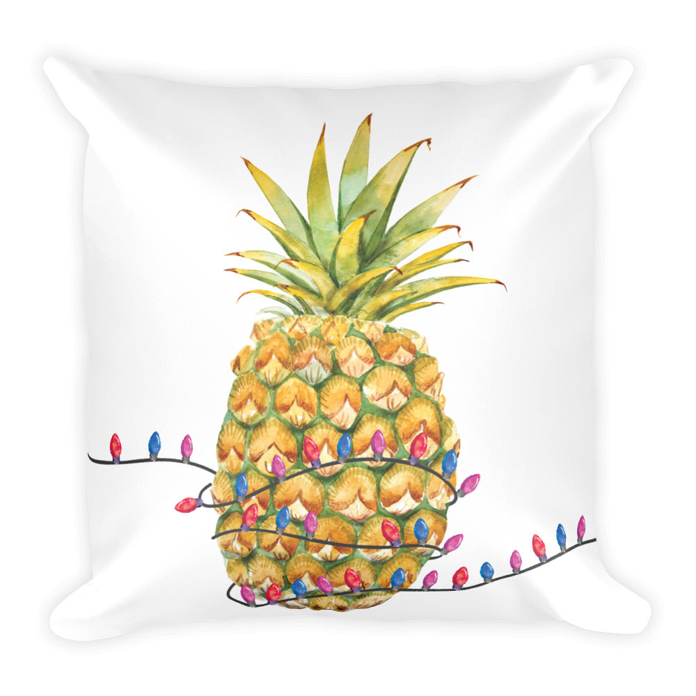 A Sweet Christmas Pillow with Stuffing