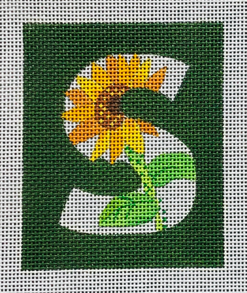 """S"" Letter for Sunflower"