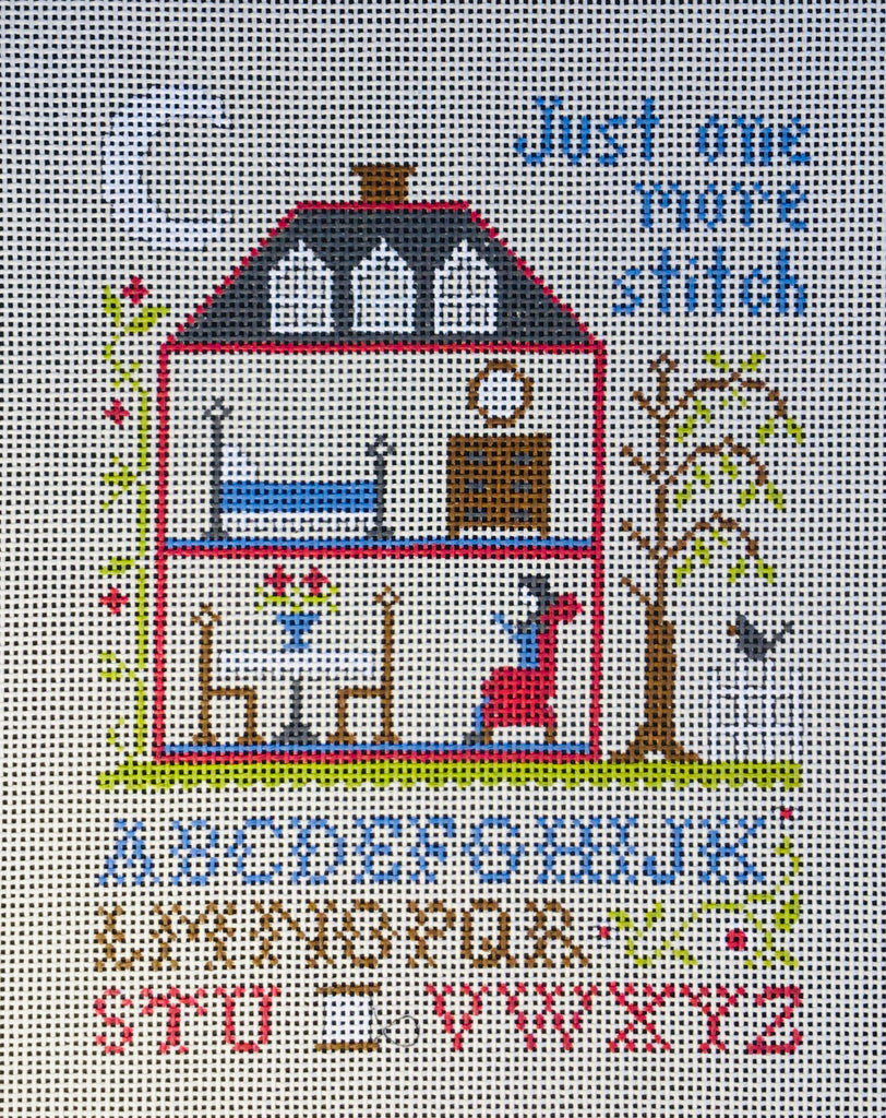 Just one more stitch.