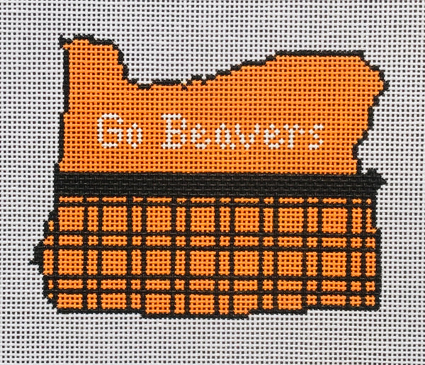 Go Beavers (state map)