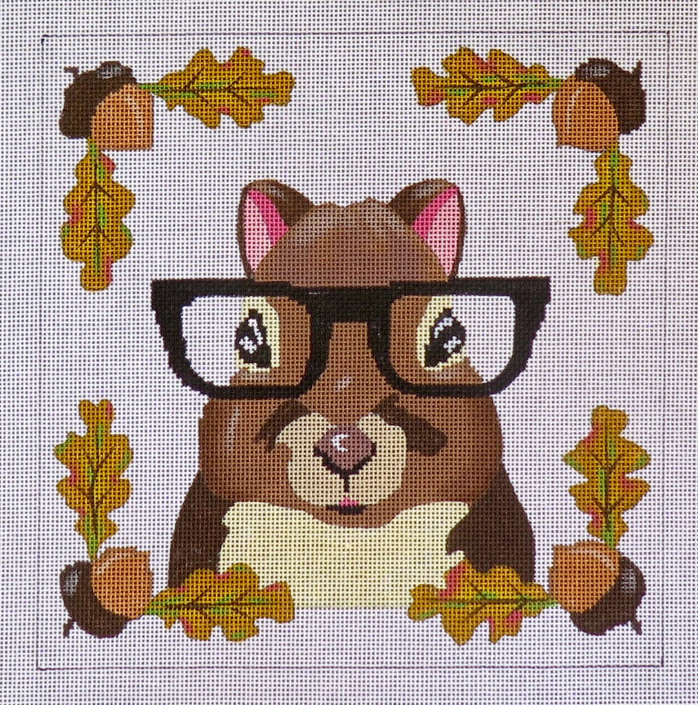 Squirrel & glasses