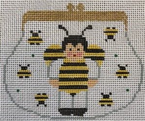Bee Purse Ornament