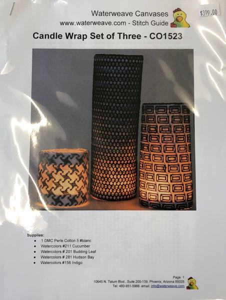 Candle Wrap - Set of 3