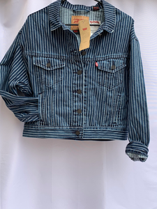 LEVI'S Stranger things striped jacket
