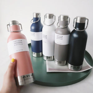 Portable Stainless Steel Vacuum Sport Water Bottle - 500ml - The KindNest Collaborative