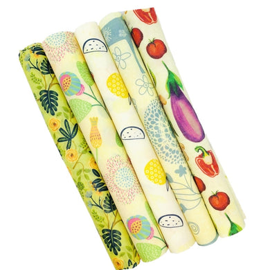 Sustainable Organic  Food Wrapping Paper BPA & Plastic Free Beeswax - The KindNest Collaborative